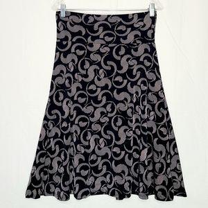 LuLaRoe | A-Line Midi Skirt Size M  NWOT